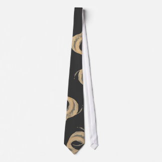 Coffee Cup Stain Tie