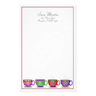 Coffee Cup Stationery, Stationery