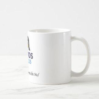Coffee cup with large GAYOS 15-Logo Basic White Mug
