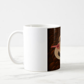 Coffee Cup with Morsels of Dark Chocolate