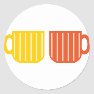 Coffee Cups Stickers