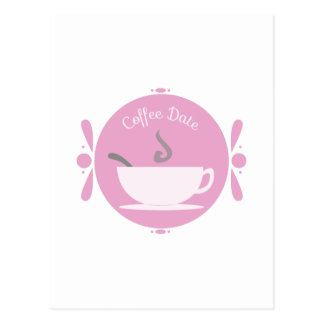 Coffee Date Postcard