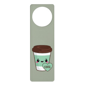 Coffee Emoji Lover Door Hanger