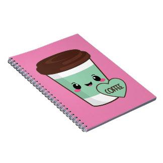 Coffee Emoji Lover Notebooks
