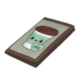 Coffee Emoji Lover Tri-fold Wallets