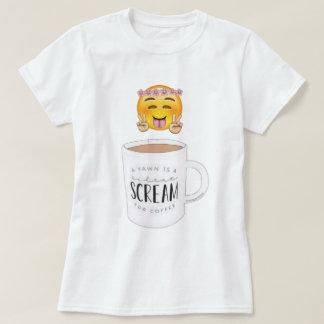 Coffee emoji tshirt