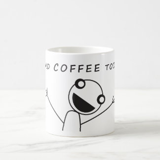 Coffee Excitement Morphing Mug
