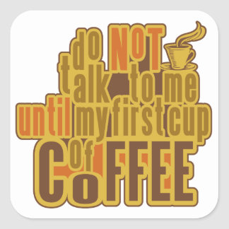 COFFEE FIRST stickers