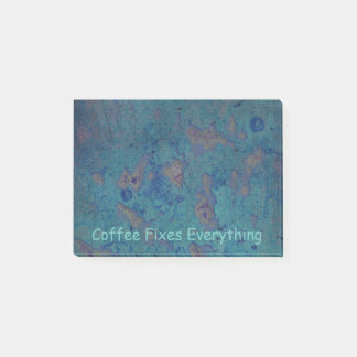 Coffee Fixes Everything Post-it Notes