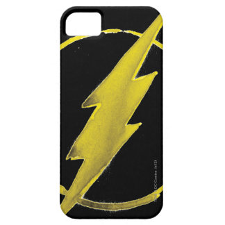 Coffee Flash Symbol - Yellow Barely There iPhone 5 Case