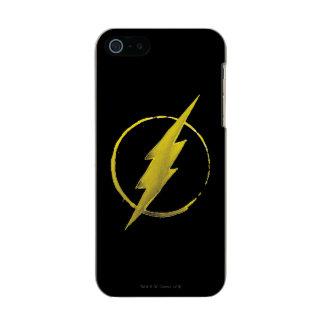Coffee Flash Symbol - Yellow Incipio Feather® Shine iPhone 5 Case