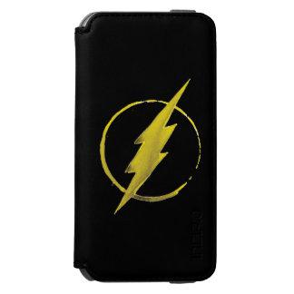 Coffee Flash Symbol - Yellow Incipio Watson™ iPhone 6 Wallet Case