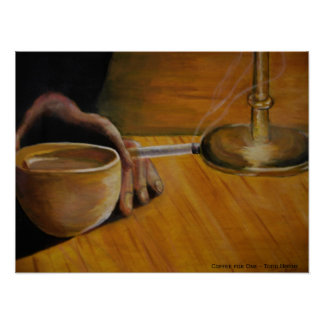 Coffee for One Poster