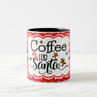 Coffee for Santa Mug