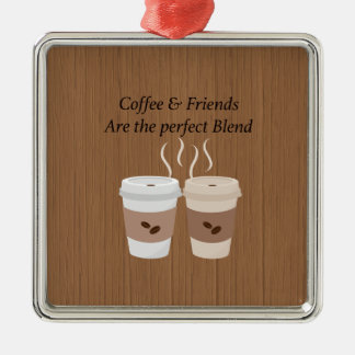 Coffee & Friends are the Perfect Blend Ornament