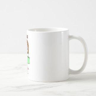 COFFEE GIRL - BROWN HAIR COFFEE MUGS