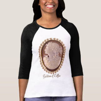 Coffee Goddess Cameo T-Shirt