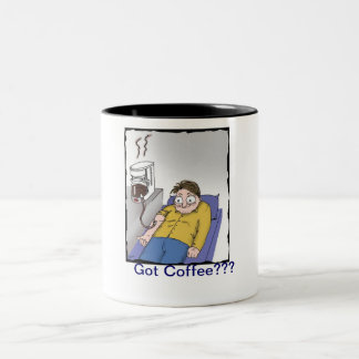 coffee, Got Coffee??? Two-Tone Mug