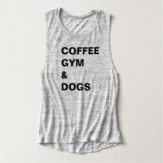 Coffee Gym & Dogs Tee