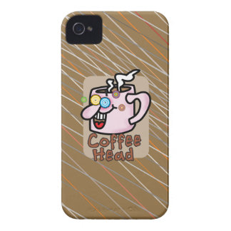 Coffee head iPhone 4/4S ID Case iPhone 4 Case