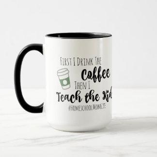 Coffee & Homeschooling Mug