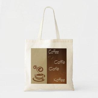 coffee hour budget tote bag