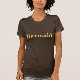 Coffee House Barmaid T Shirt.