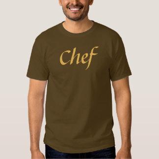 Coffee House Chef T Shirt. Brown and Mocha Tshirt