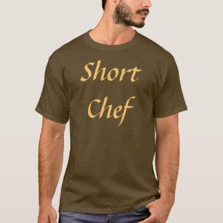 Coffee House Short Chef T Shirt. Brown and Mocha T-Shirt