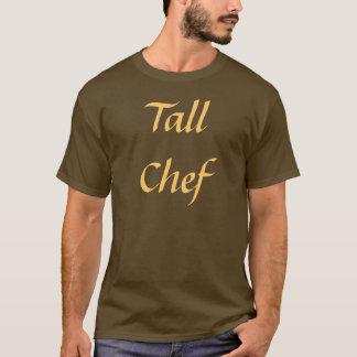 Coffee House Tall Chef T Shirt. Brown and Mocha T-Shirt