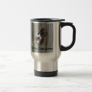 Coffee, I see coffee! Travel Mug