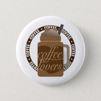 Coffee Illustration by Syahikmah 6 Cm Round Badge
