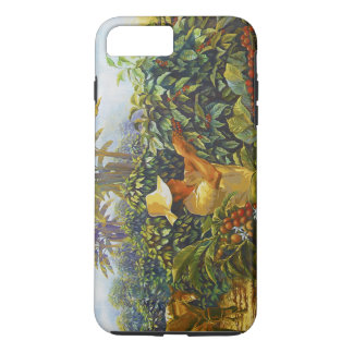 Coffee in the Park Mural by Master Henry Villada iPhone 7 Plus Case