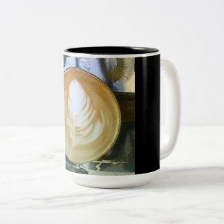 Coffee Inside & Out Two-Tone Coffee Mug