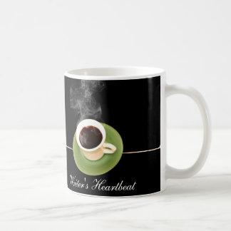 Coffee is a Writers Heartbeat Coffee Mug