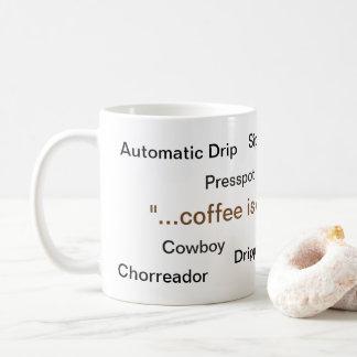 Coffee is Coffee Mug
