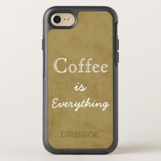 Coffee is Everything Tan OtterBox Symmetry iPhone 7 Case