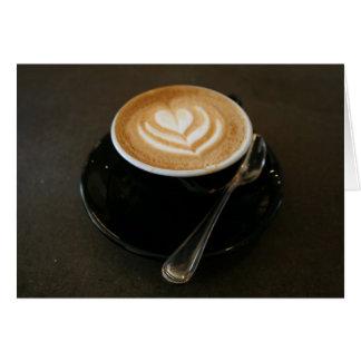 Coffee is love - notecard