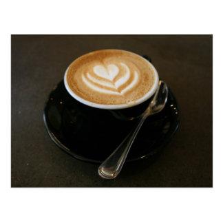 Coffee is love - postcard