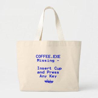 Coffee is missing bag