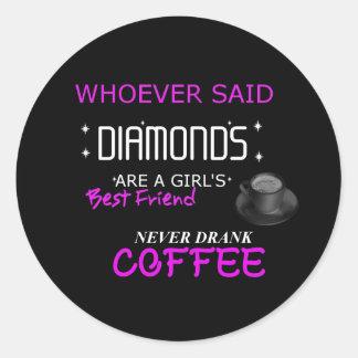Coffee Is My BFF  Sticker