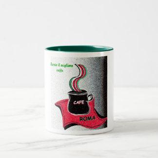 Coffee Italian Roma Mug Faccio il migliore caffe.