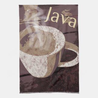 Coffee Java Hot Mug Tea Towel