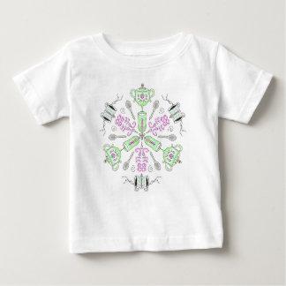 Coffee kaleidoscope baby T-Shirt