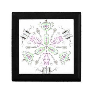 Coffee kaleidoscope gift box