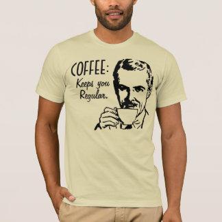 Coffee keeps you regular Retro T-Shirt