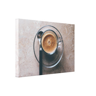 Coffee Kitchen Wall Art Canvas