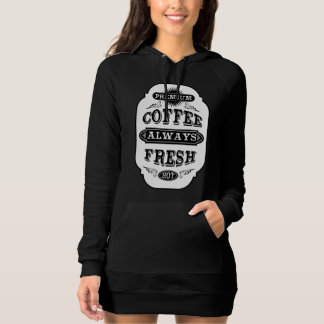 Coffee Label Typography Tees