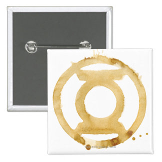 Coffee Lantern Symbol 15 Cm Square Badge