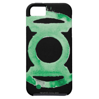 Coffee Lantern Symbol - Green iPhone 5 Cover